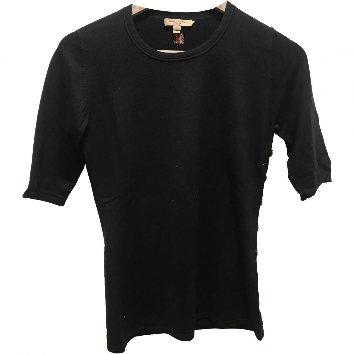 Camiseta de Seda Burberry
