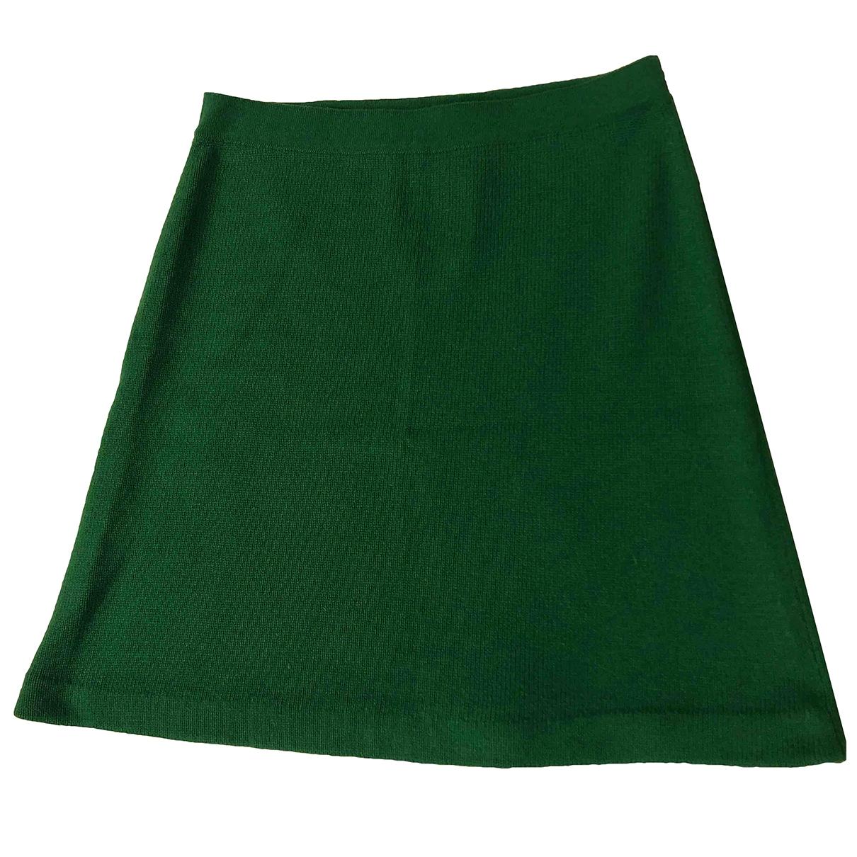 Chanel \N Green Cashmere skirt for Women 36 FR
