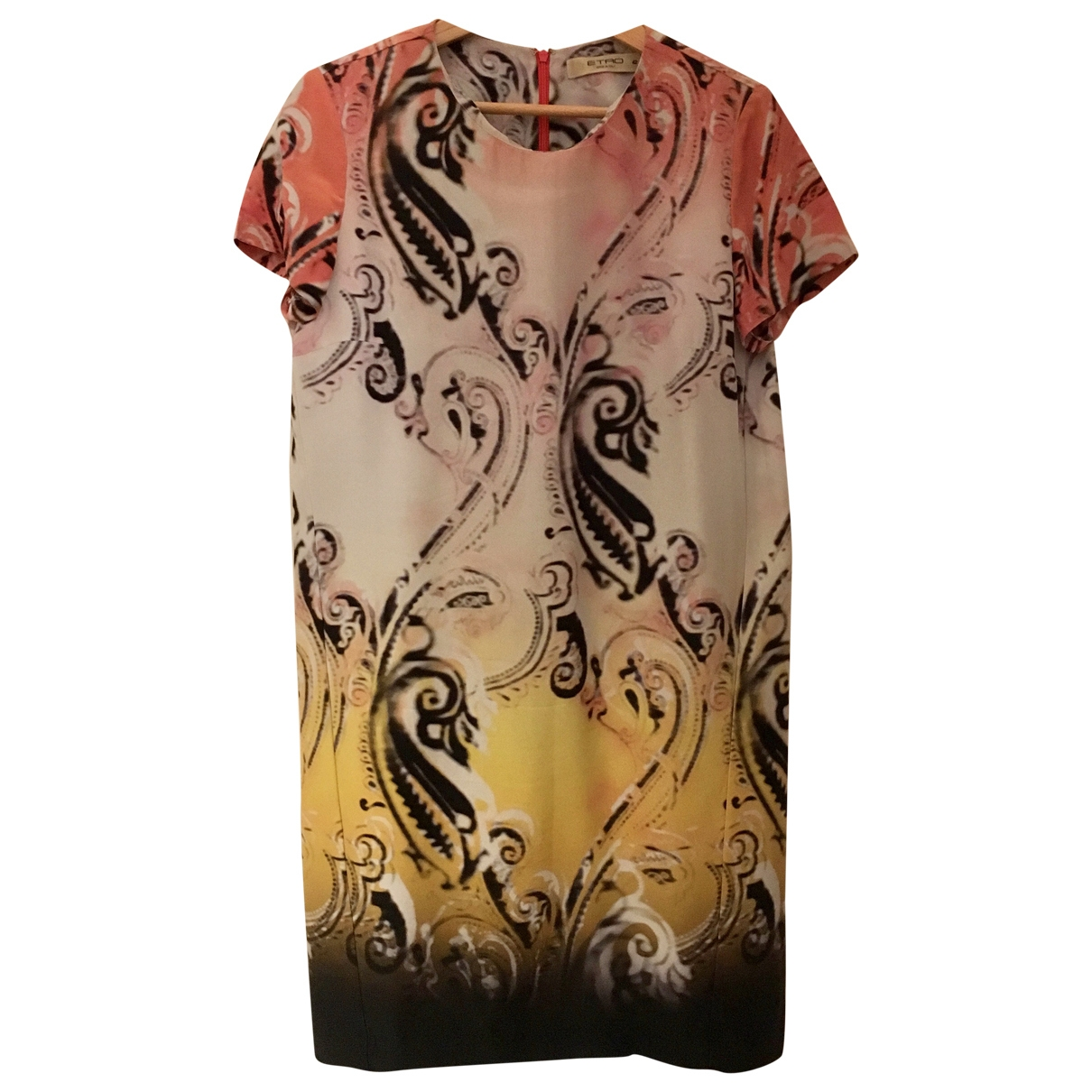 Etro \N Multicolour Cotton dress for Women 42 IT