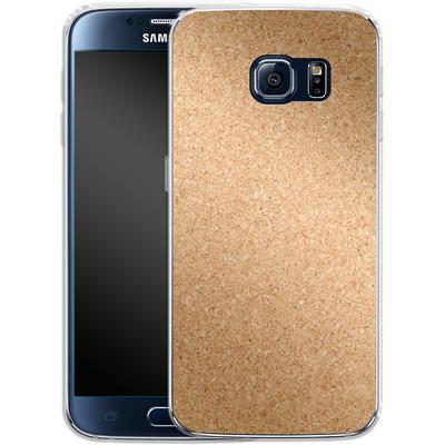 Samsung Galaxy S6 Silikon Handyhuelle - Cork von caseable Designs
