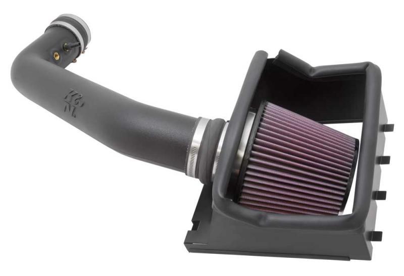 K&N 57-2584 Performance Air Intake System Ford Raptor 2011-2012 6.2L V8
