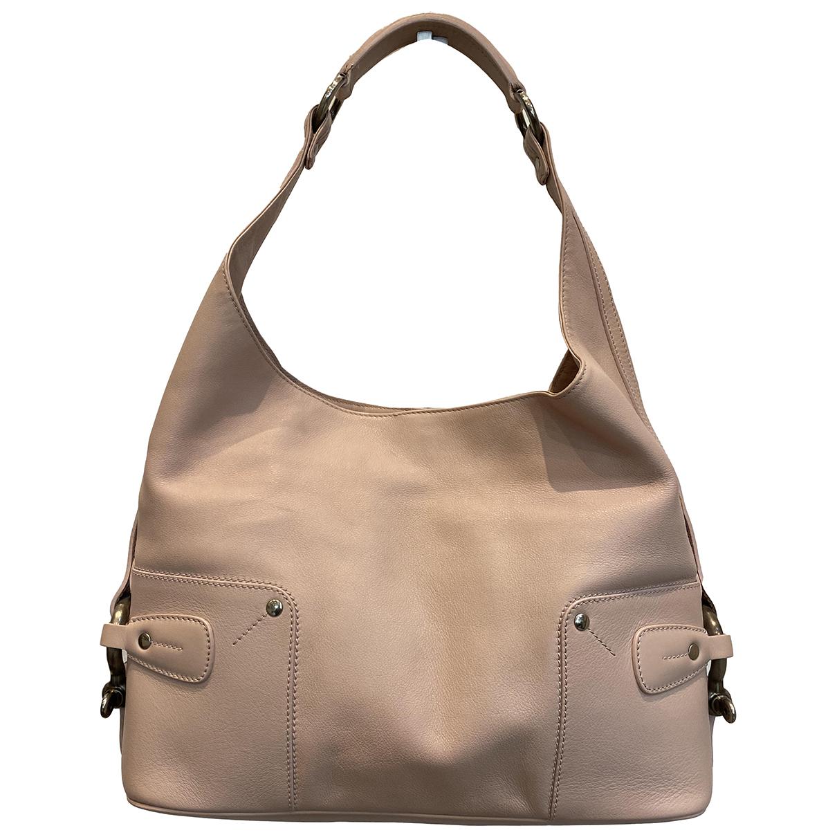 Burberry \N Pink Leather handbag for Women \N