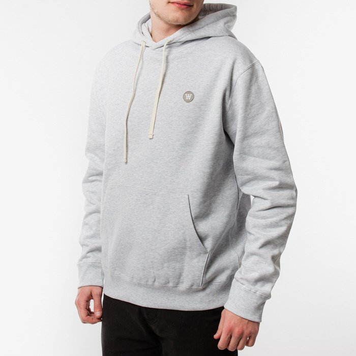 Wood Wood Ian Hoodie 10215600-2424 LIGHT GREY MELANGE