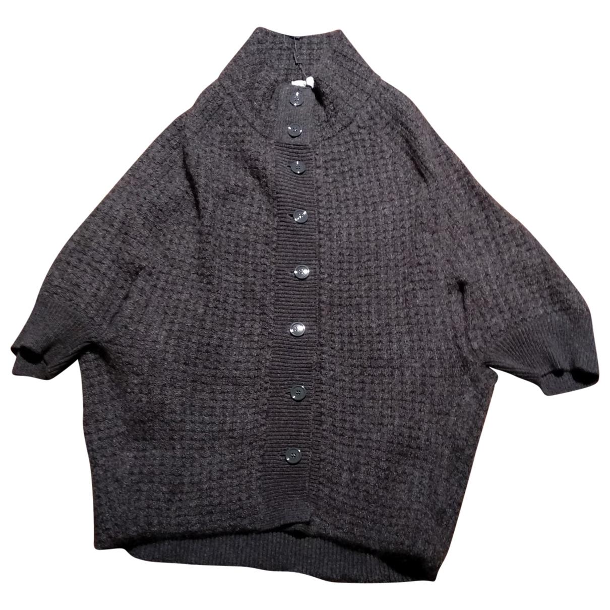 Yves Saint Laurent - Pull   pour femme en cachemire - gris