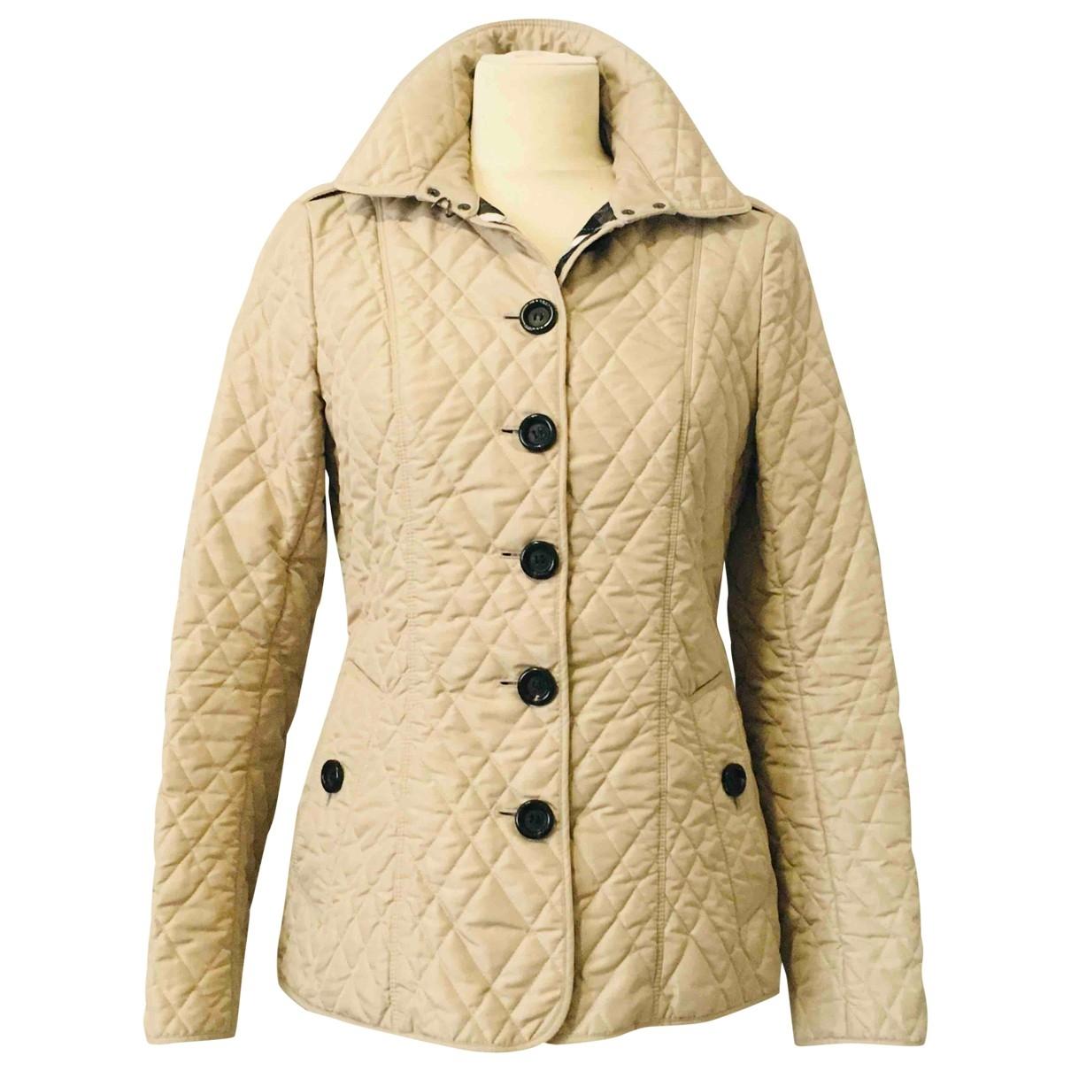 Burberry \N Ecru coat for Women 40 IT