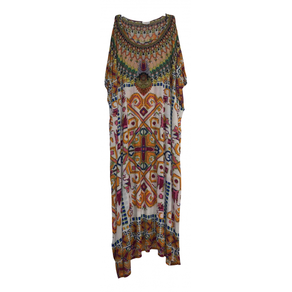 Camilla \N Kleid in  Bunt Baumwolle - Elasthan