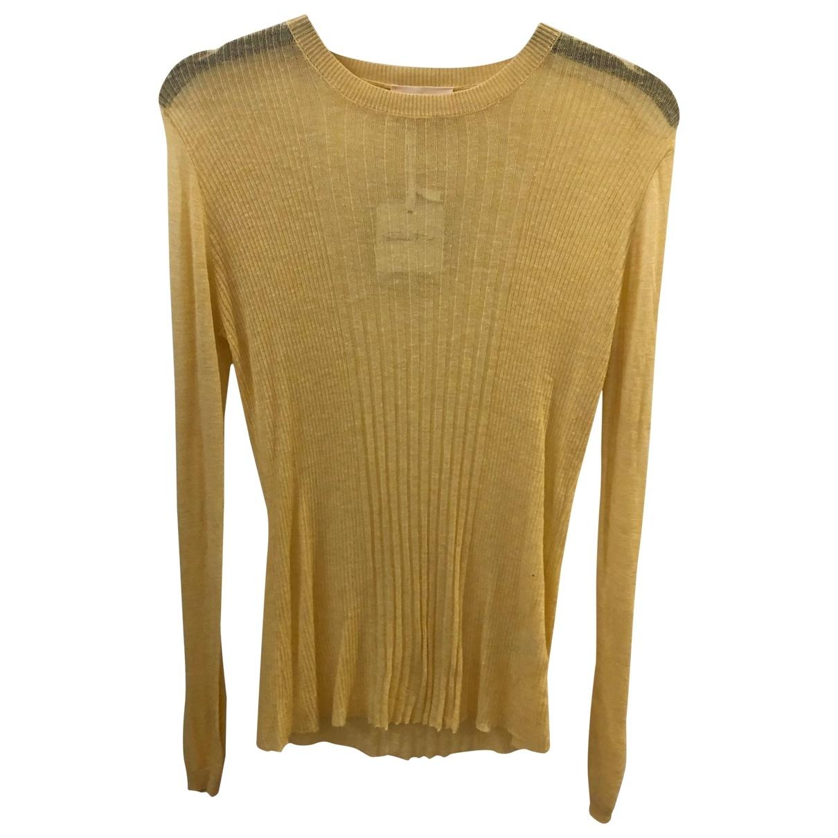 American Vintage \N Yellow Wool Knitwear for Women S International