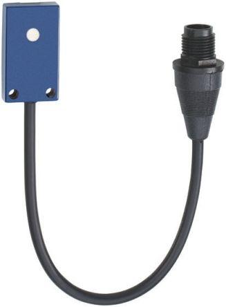 Telemecanique Sensors Ultrasonic Sensor Block, 6 → 100 mm, PNP-NO, M12 - 4 Pin with cable IP67