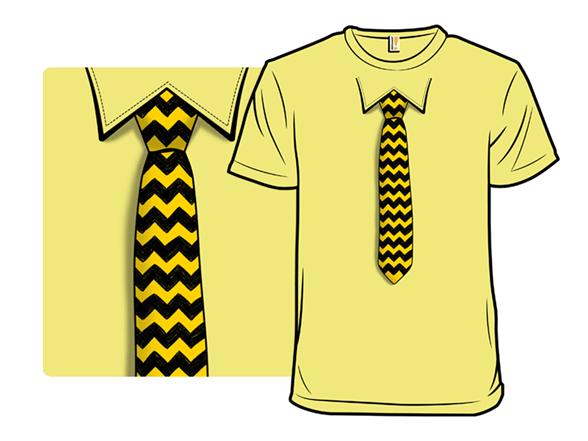 Blockhead's Tie T Shirt