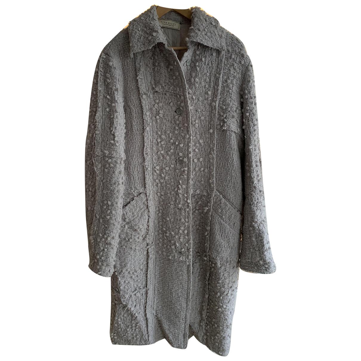 Abrigo Tweed Nina Ricci