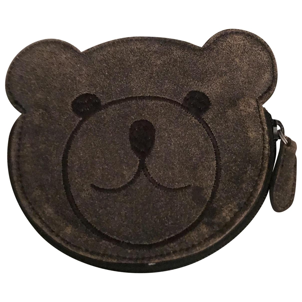 Furla \N Grey Leather Purses, wallet & cases for Women \N