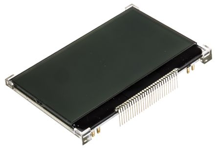 Displaytech 64128M FC BW-RGB Graphic LCD Display, Black on Blue, Green, Red, Transflective