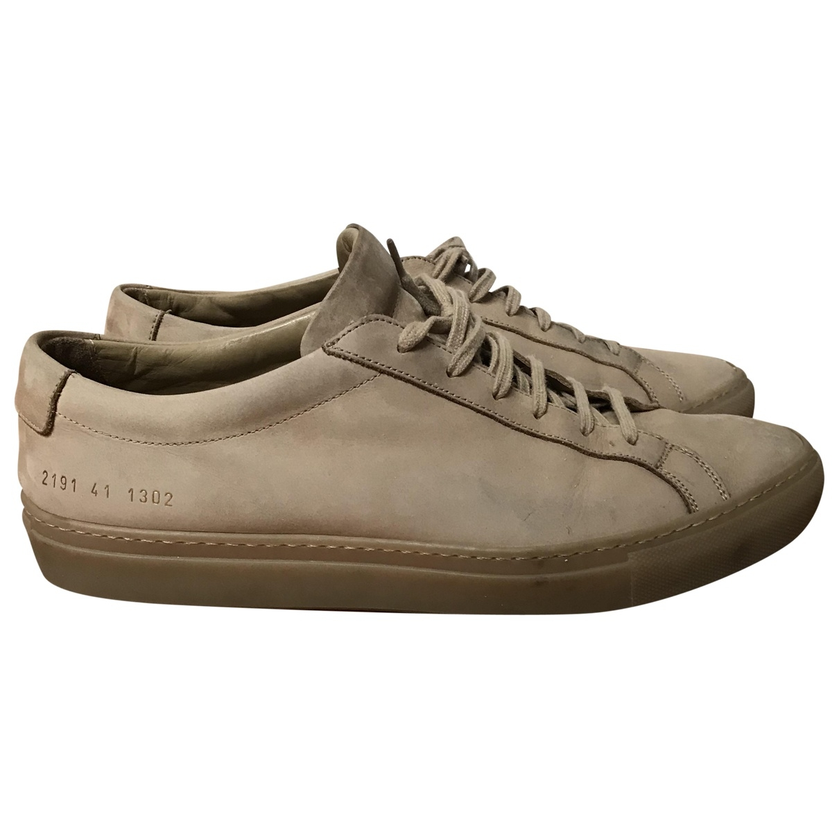 Common Projects \N Leather Trainers for Men 42 EU