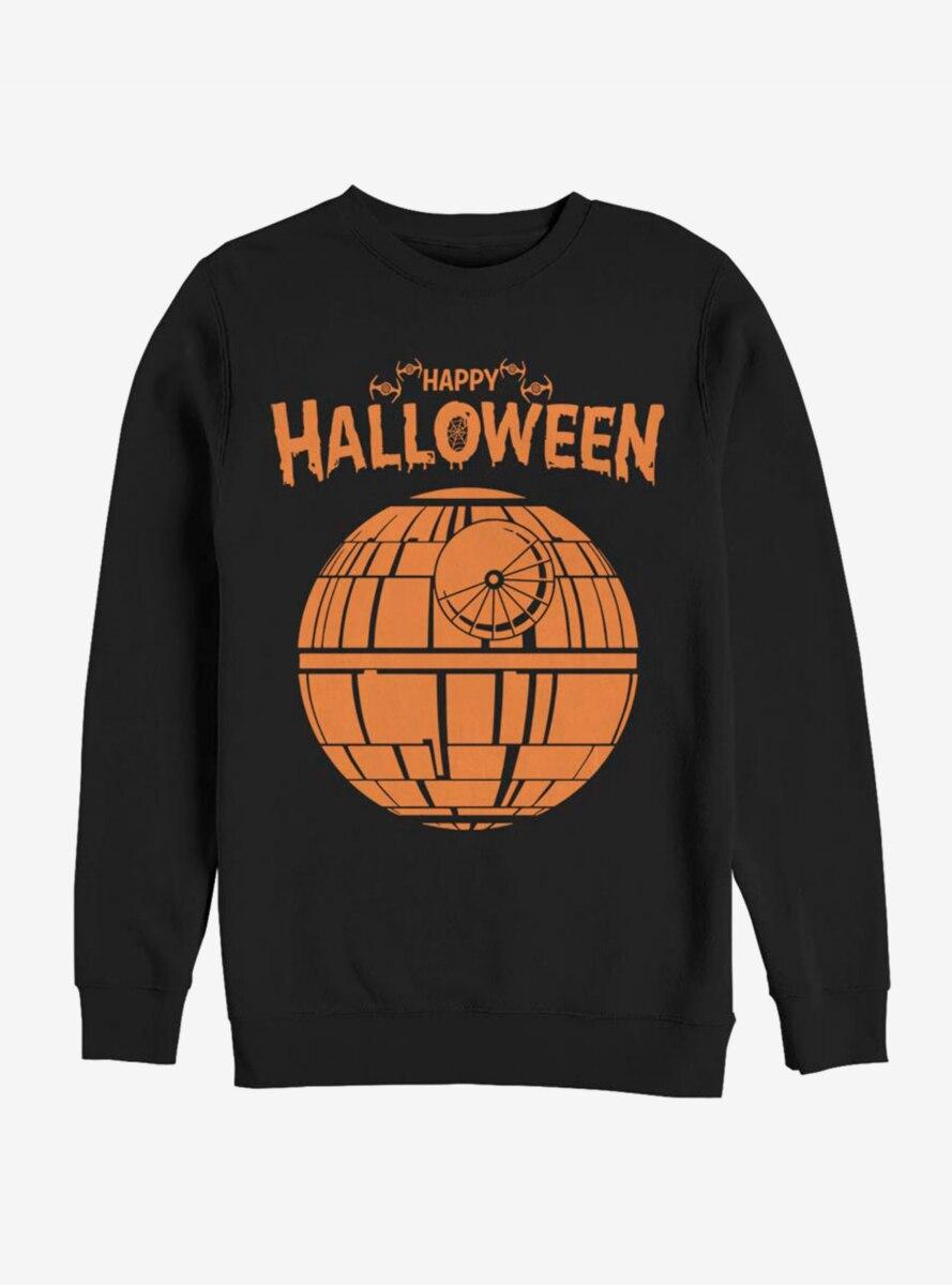 Star Wars Death Star Happy Halloween Sweatshirt