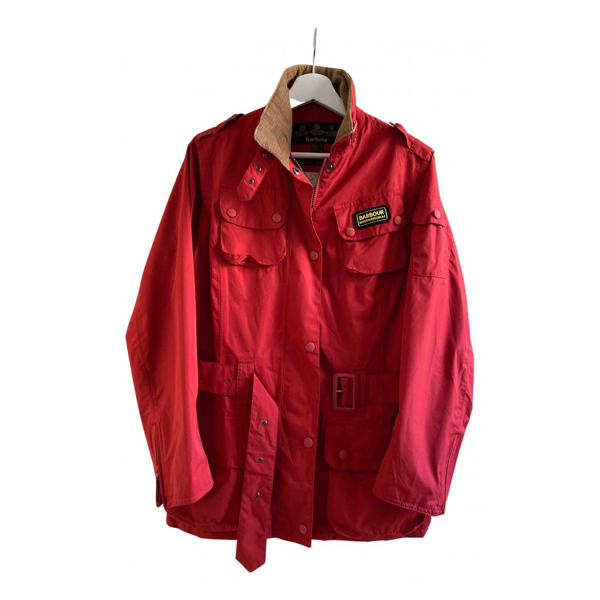 Barbour - Veste   pour femme - rouge