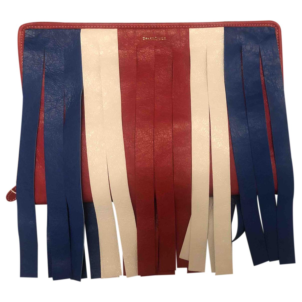 Balenciaga - Pochette Bazar Bag pour femme en cuir - multicolore