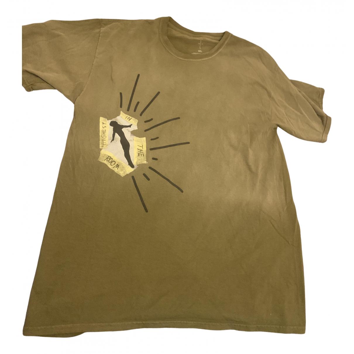 Travis Scott - Tee shirts   pour homme en coton - vert