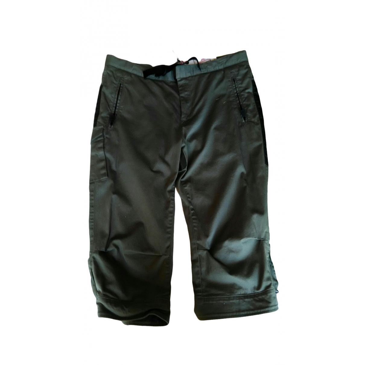 Moncler \N Shorts in  Gruen Baumwolle