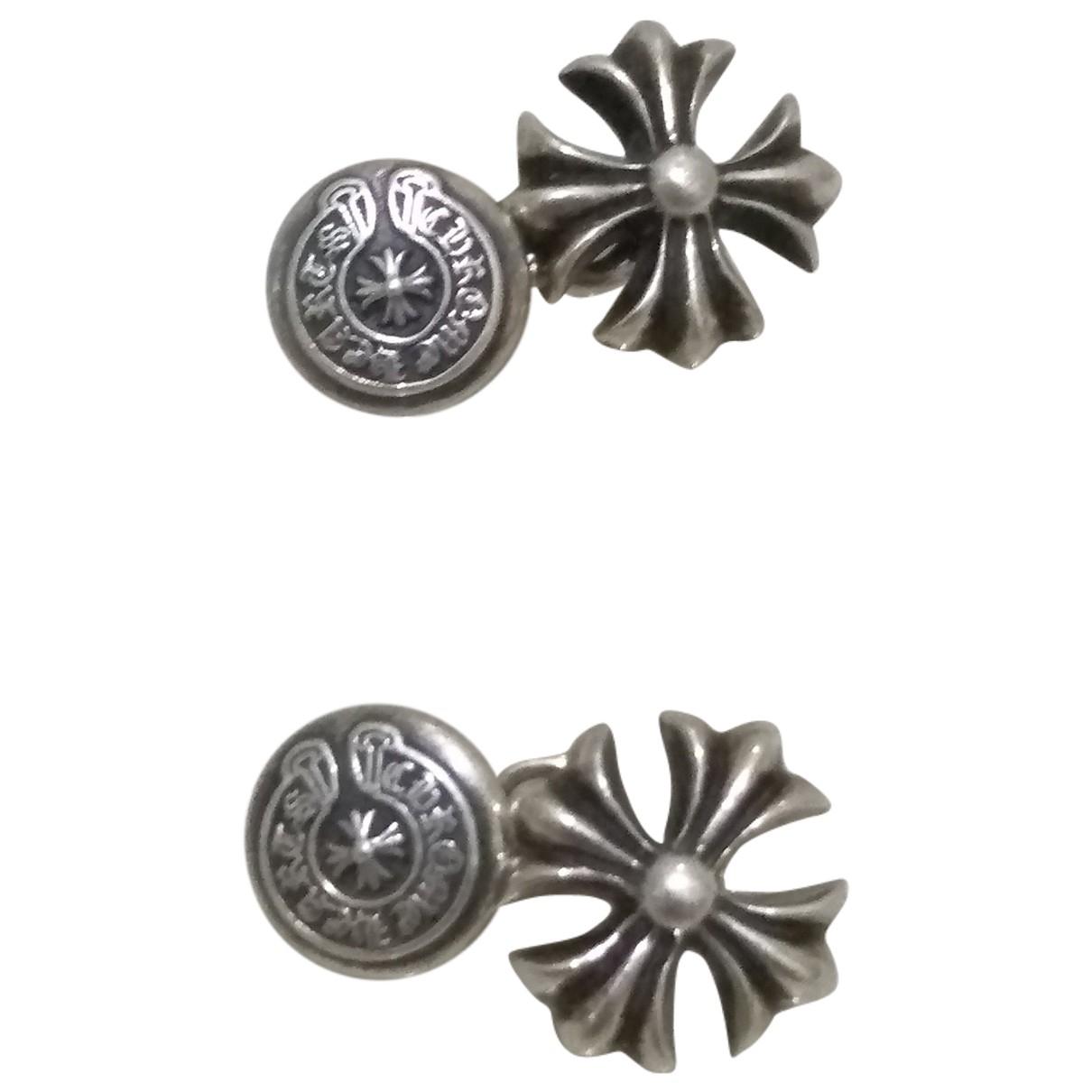 Chrome Hearts \N Manschettenknopfe in  Silber Silber