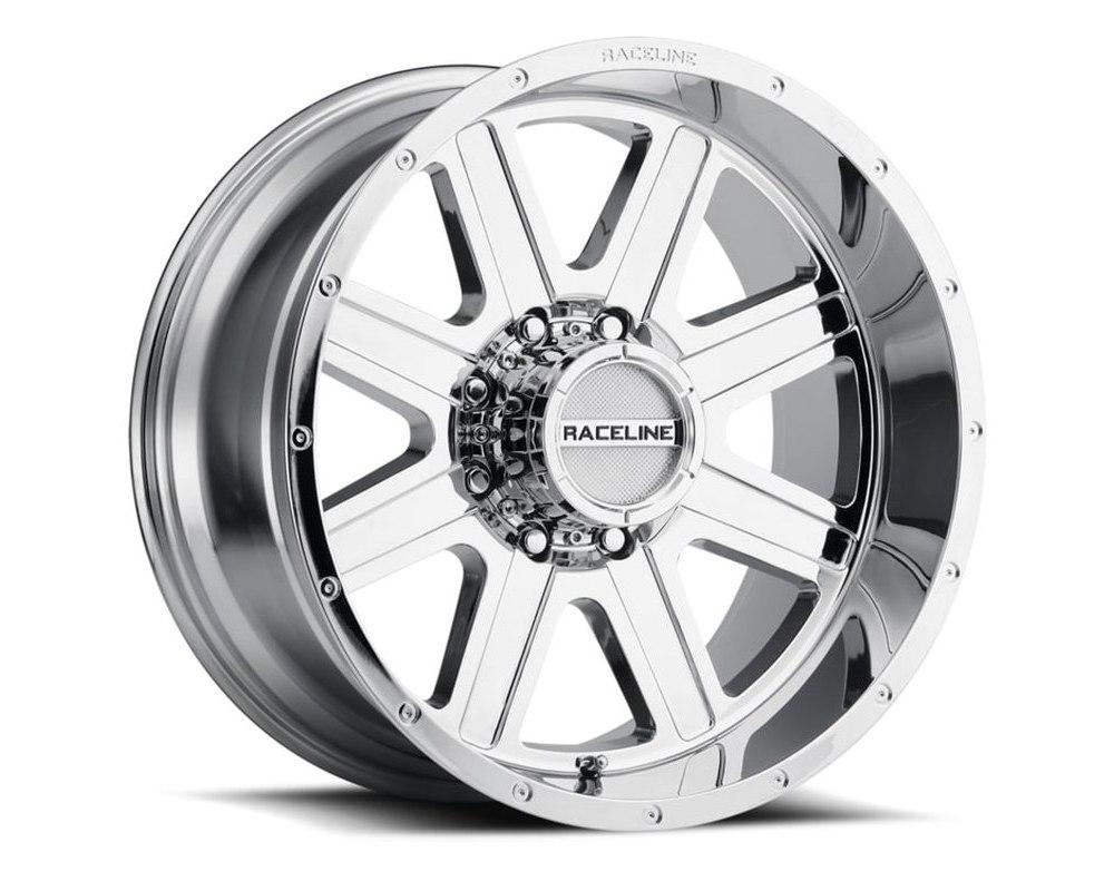 Raceline 940C Hostage Chrome Wheel 20X9 8X180 12mm