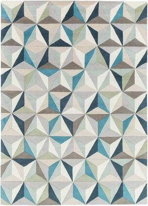 Oasis OAS-1097 8' x 11' Rectangle Modern Rug in