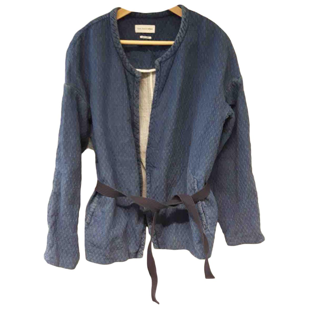 Isabel Marant - Veste   pour femme en coton - bleu