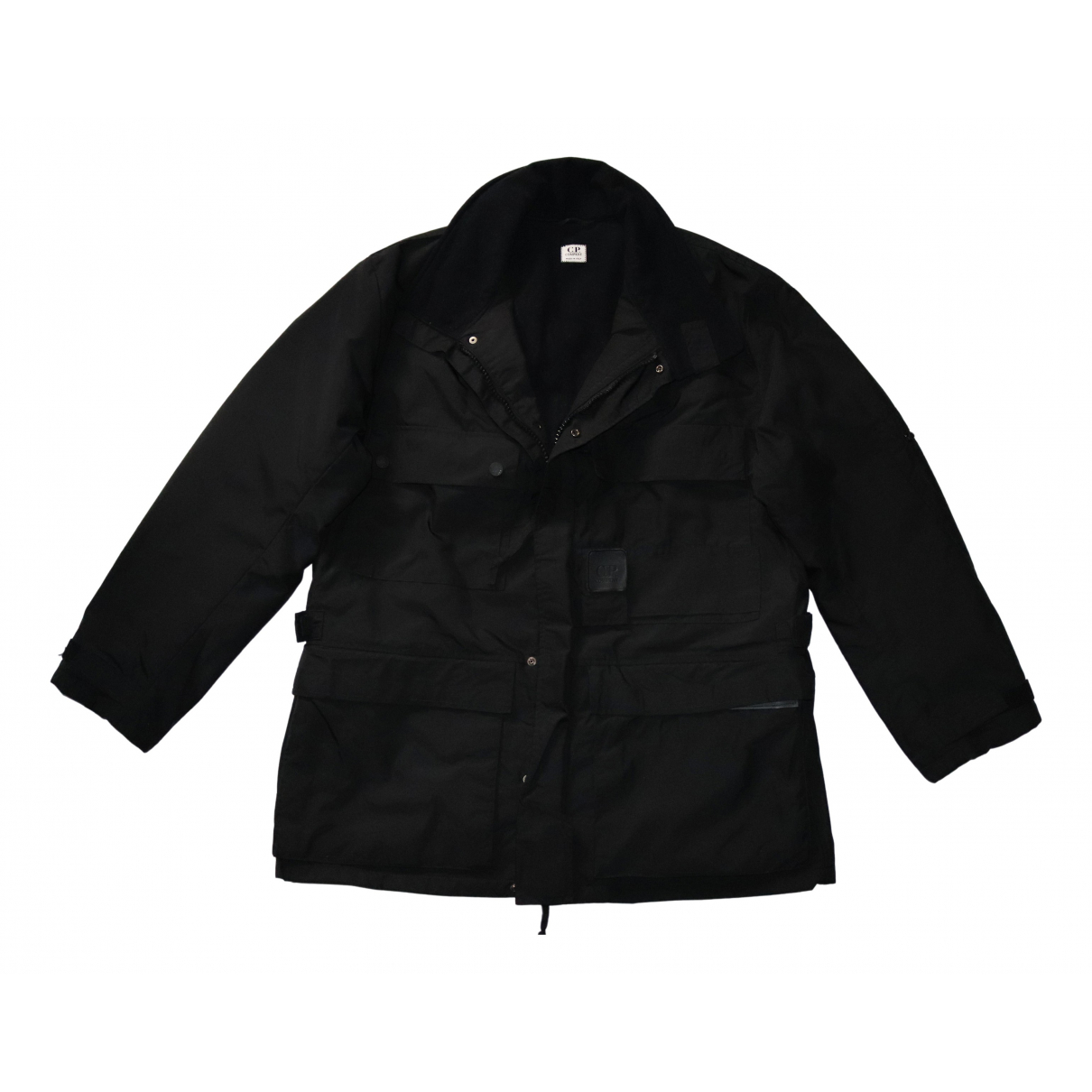 Cp Company \N Jacke in  Schwarz Polyester