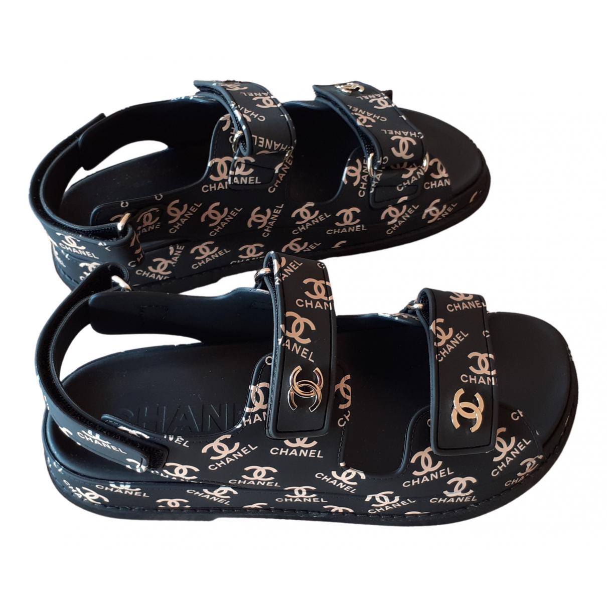 Chanel - Sandales Dad Sandals pour femme - multicolore