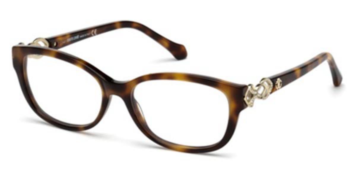 Roberto Cavalli RC 5061 052 Women's Glasses Tortoise Size 54 - Free Lenses - HSA/FSA Insurance - Blue Light Block Available
