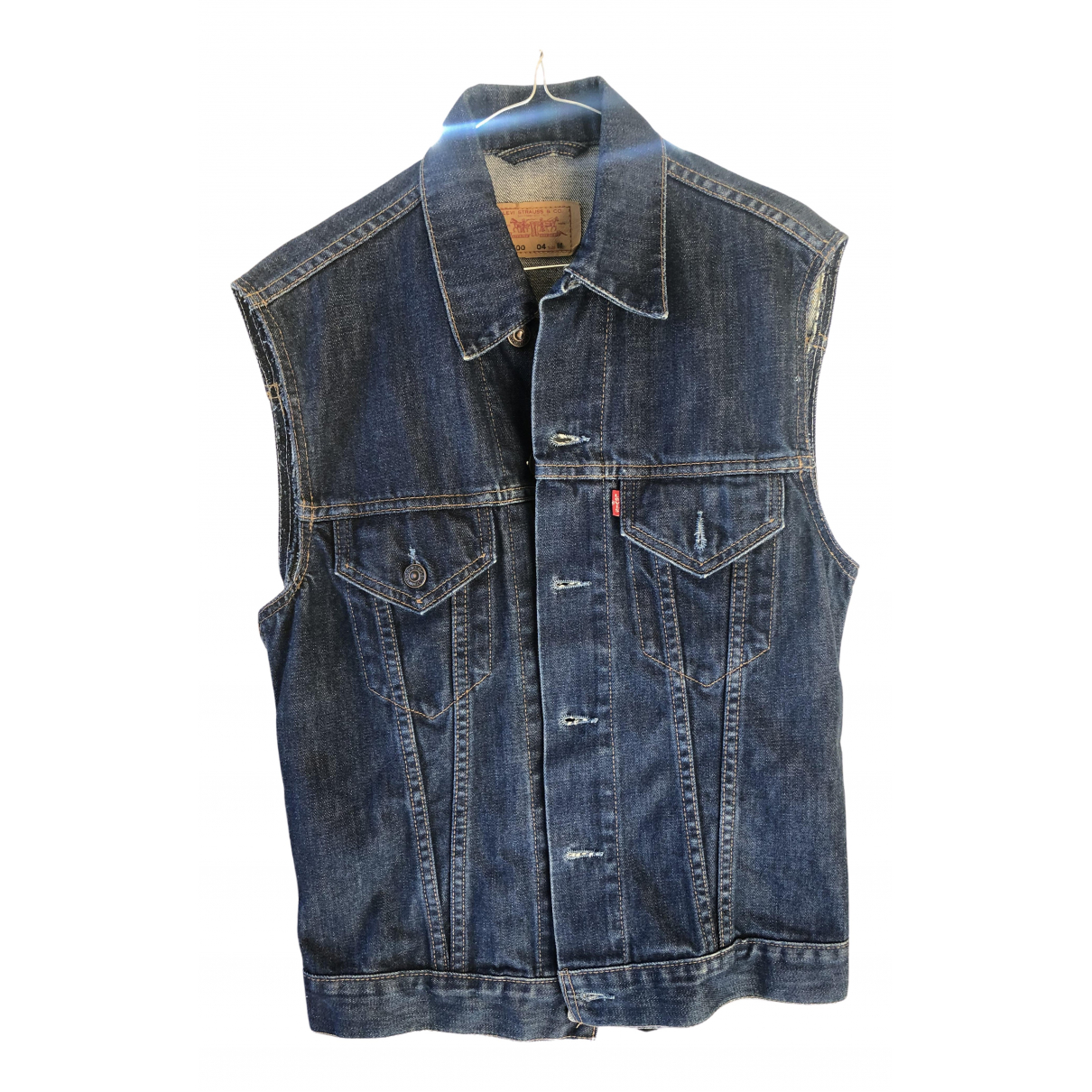 Levis Vintage Clothing \N Jacke in  Blau Denim - Jeans