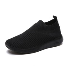 Slip On Strick Trainer