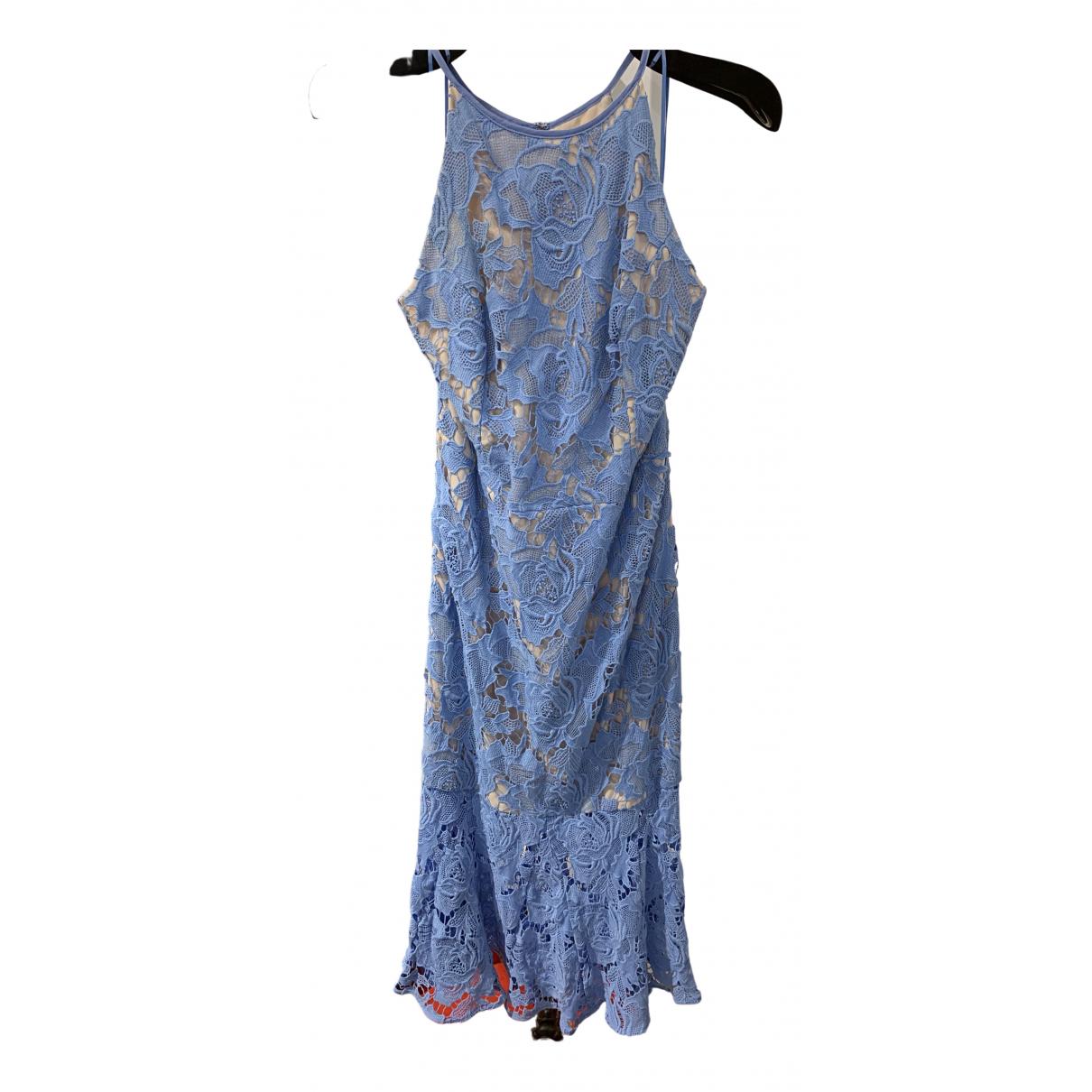 Keepsake The Label \N Kleid in  Blau Baumwolle
