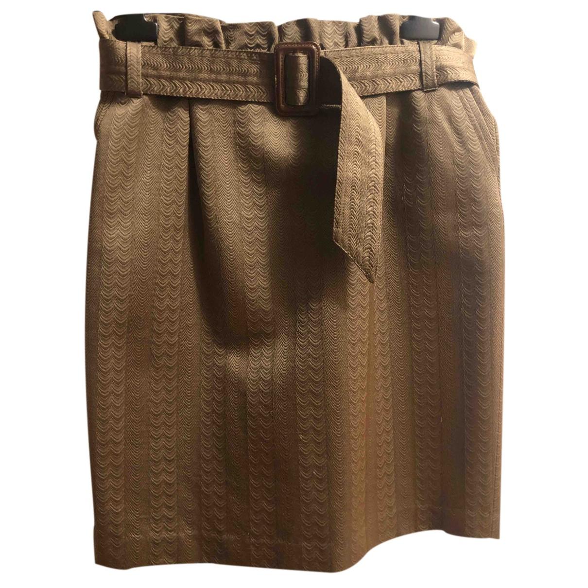 Class Cavalli - Jupe   pour femme en laine - kaki
