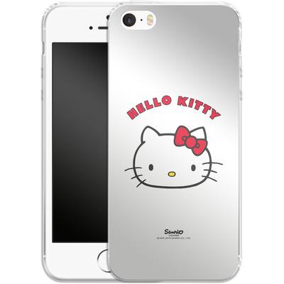Apple iPhone 5 Silikon Handyhuelle - Just Hello Kitty von Hello Kitty