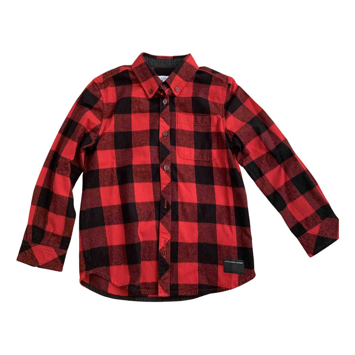 Little Marc Jacobs - Top   pour enfant en coton - rouge