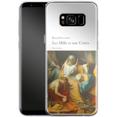 Samsung Galaxy S8 Silikon Handyhuelle - Mille Et Une Cuites von Fists Et Lettres