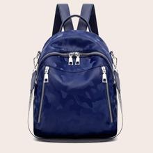 Zip Front Backpack