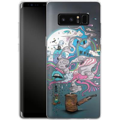 Samsung Galaxy Note 8 Silikon Handyhuelle - Pipe Dreams von Mat Miller