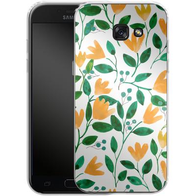 Samsung Galaxy A5 (2017) Silikon Handyhuelle - Fresh Foliage von Iisa Monttinen