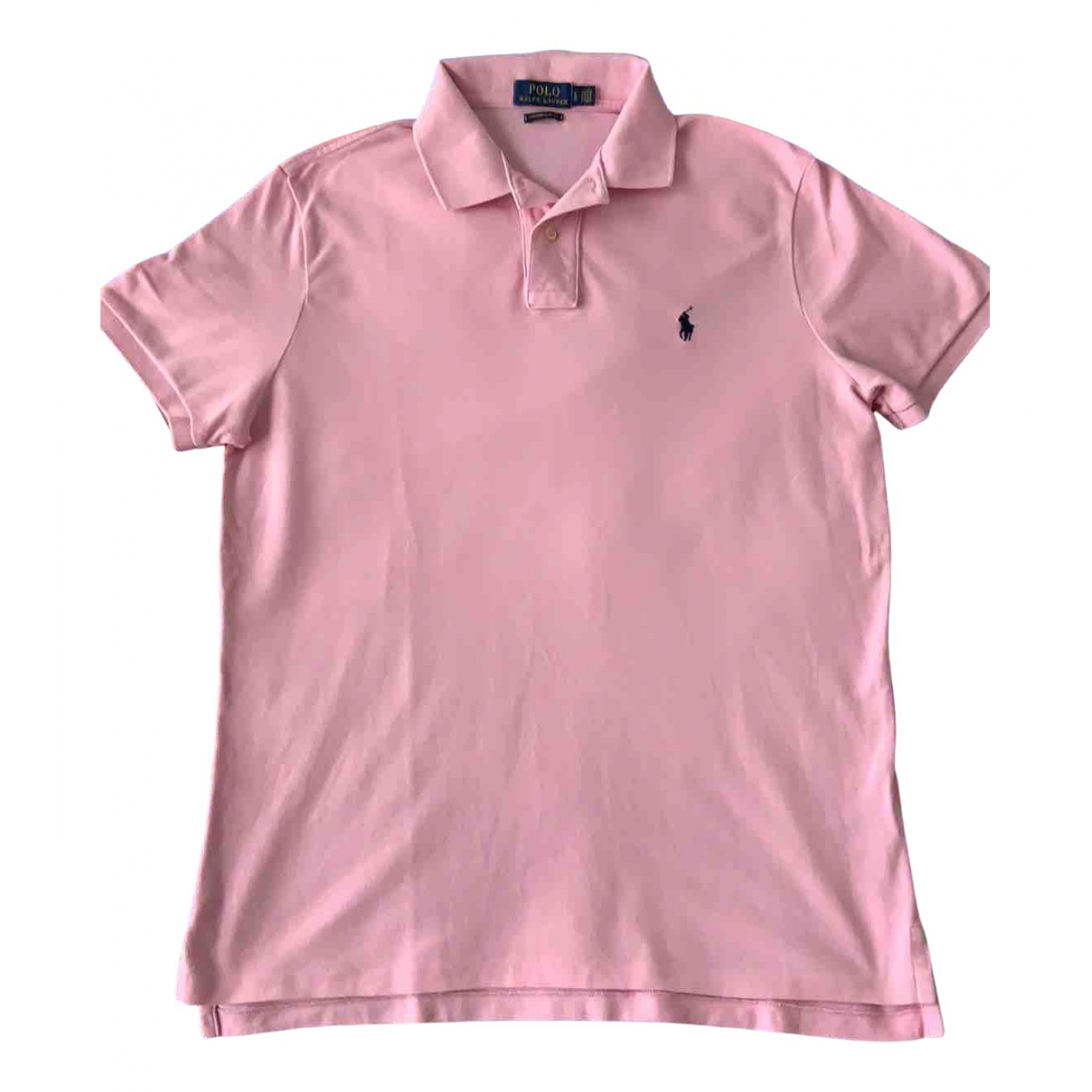 Polo Ralph Lauren - Polos Polo cintre manches courtes pour homme en coton - rose