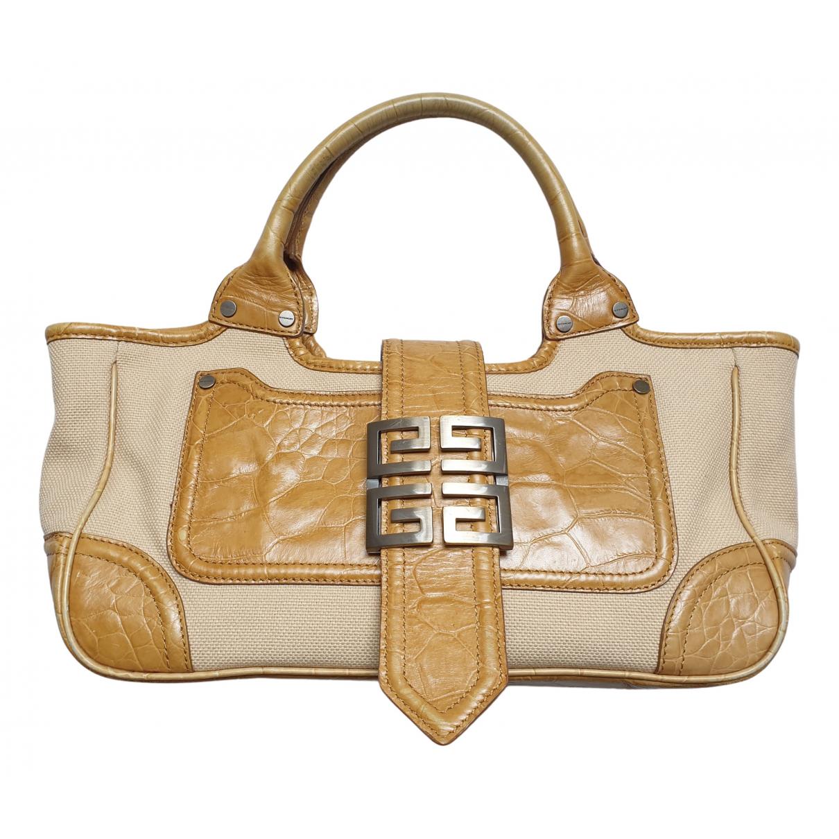 Givenchy - Sac a main   pour femme en toile - beige