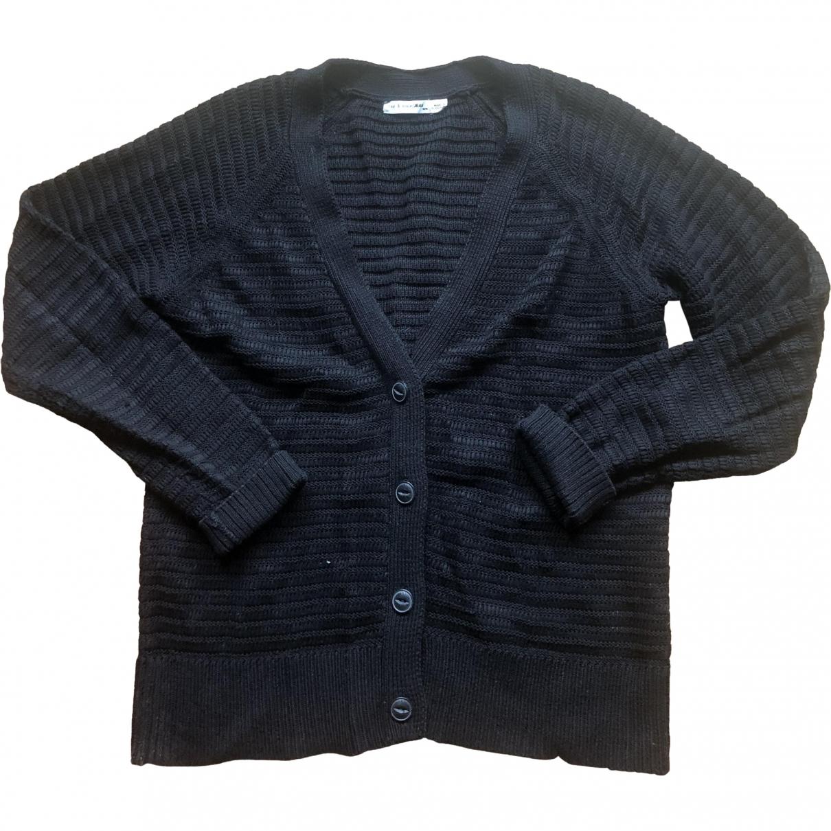 Rag & Bone \N Pullover in  Schwarz Baumwolle