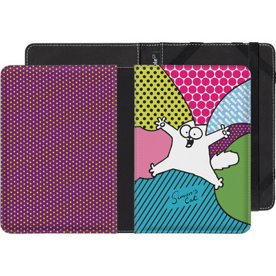 Sony Reader PRS-T3 eBook Reader Huelle - Simon´s Cat Colourful Pattern von Simons Cat