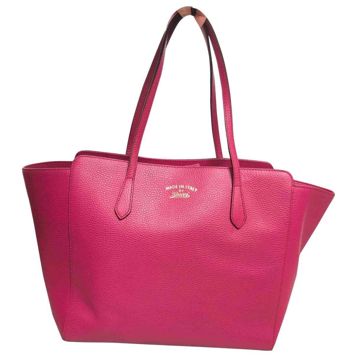 Gucci Swing Pink Leather handbag for Women \N