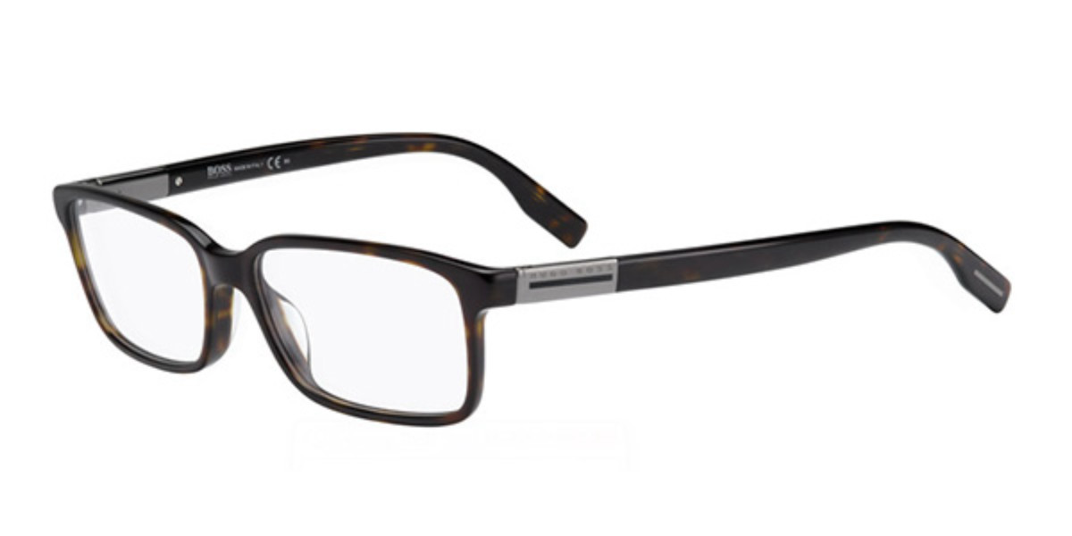 Boss by Hugo Boss Boss 0604 086 Men's Glasses Tortoise Size 54 - Free Lenses - HSA/FSA Insurance - Blue Light Block Available
