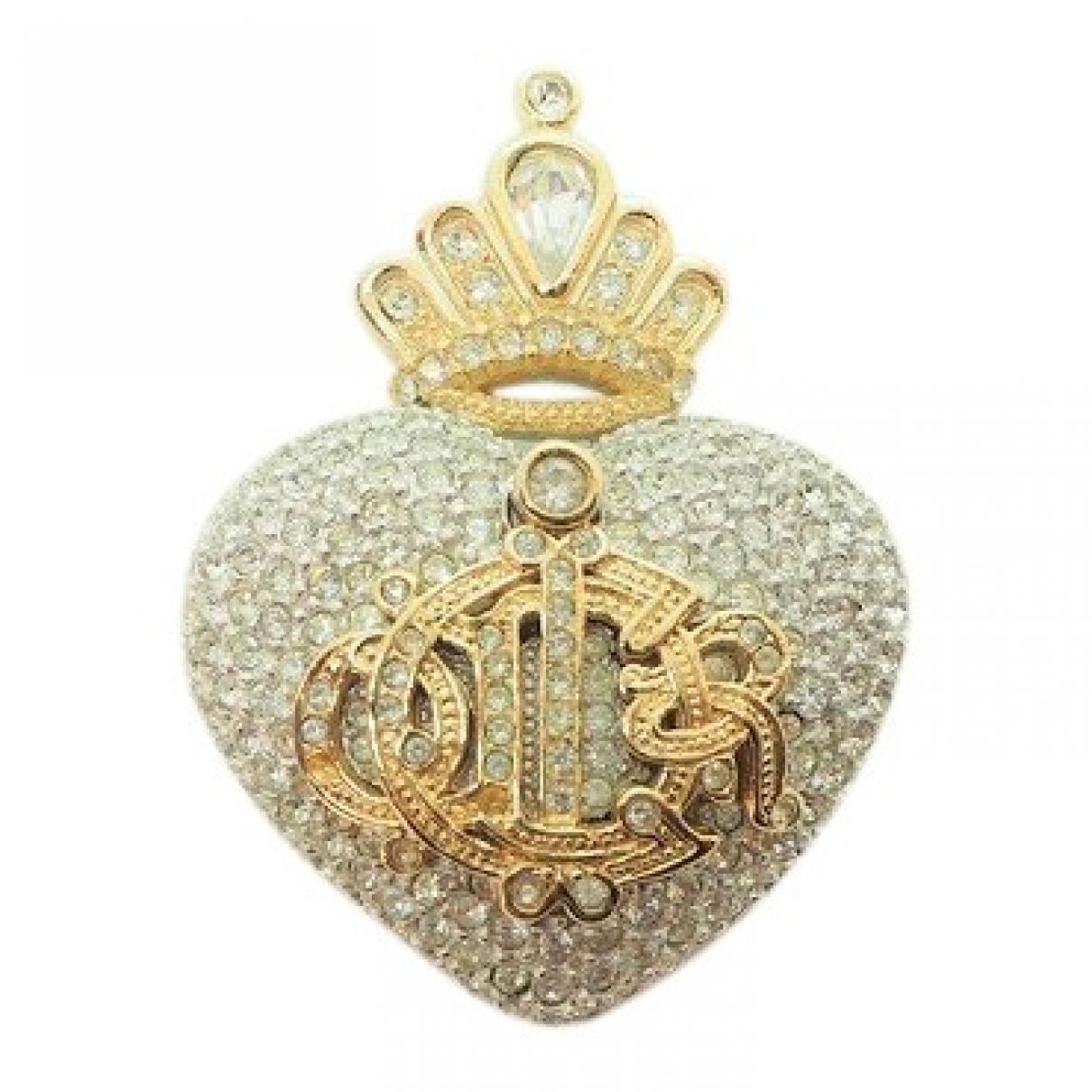 Broche en Chapado en oro Dorado Dior