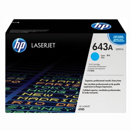 HP 643A Q5951A cartouche de toner originale cyan