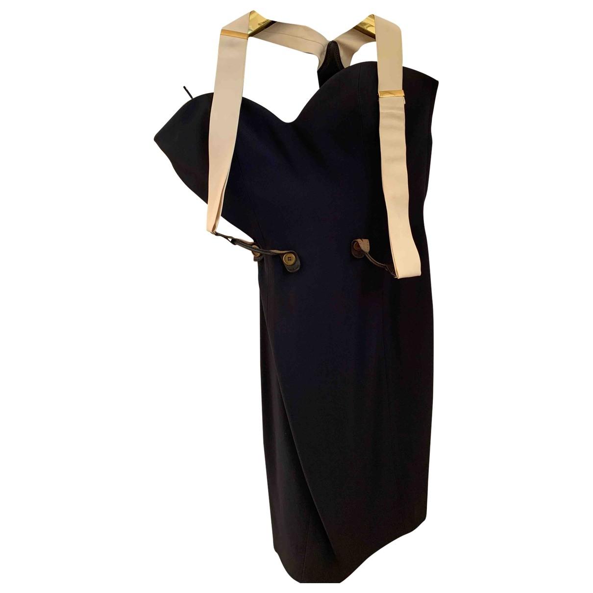 Moschino \N Kleid in  Blau Synthetik