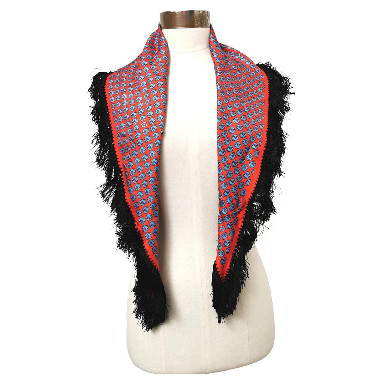 Balenciaga \N Orange Silk scarf for Women \N