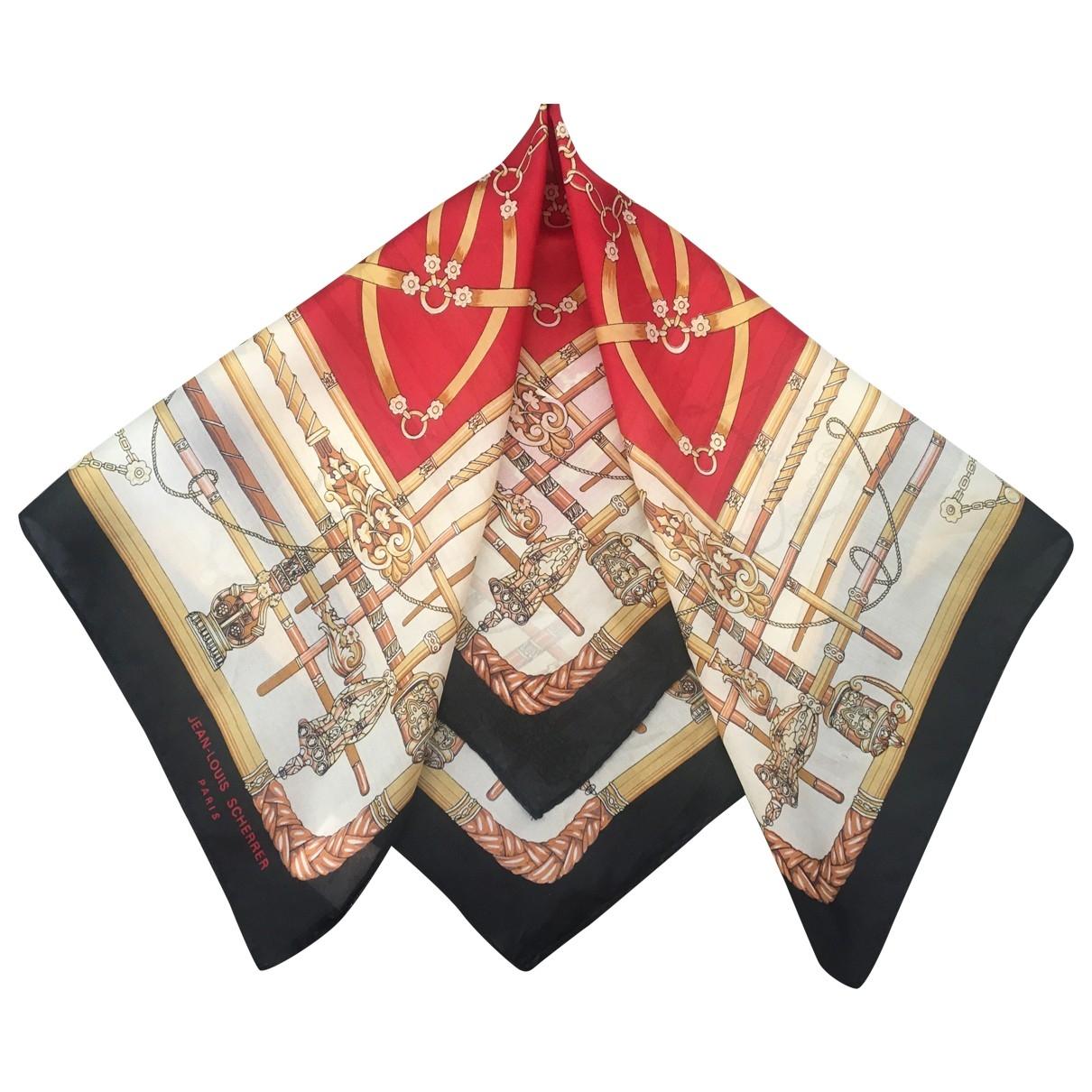 Jean-louis Scherrer - Foulard   pour femme en soie - multicolore